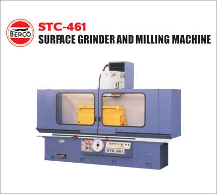 surface grinder and milling machine